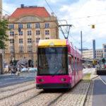 Straßenbahn in Dresden