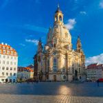 Frauenkirche Dresden auf dem Neumarkt