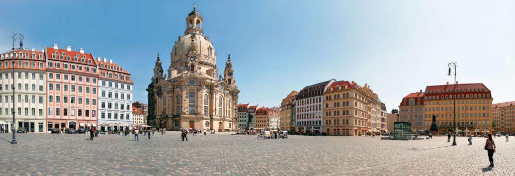 barocke Frauenkirche in Dresden