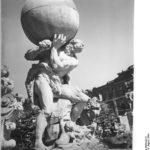 Hercules Saxonicus: den Wallpavillon im Dresdner Zwinger krönende Plastik von Balthasar Permoser