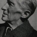 Hubert Georg Ermisch - Porträt von der Seite