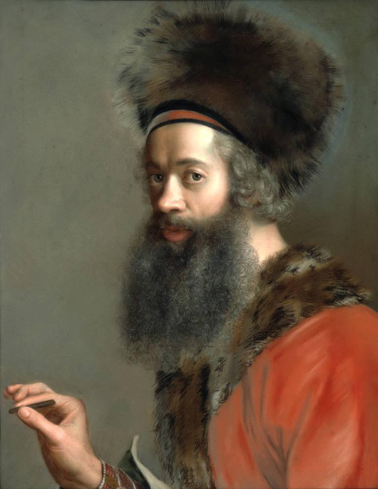 Jean-Etienne Liotard - wurde auch durch die Türkenmode in seinem Äußeren bekannt