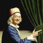 Jean Etienne Liotard - Lachendes Selbstbildnis im Alter (ca.1770) entgegen früherer Bilder ohne Bart