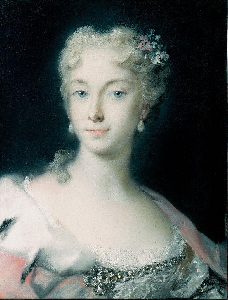 Pastellkabinett – Rosalba Carriera – Erzherzogin Maria Theresa von Habsburg (ca. 1730)