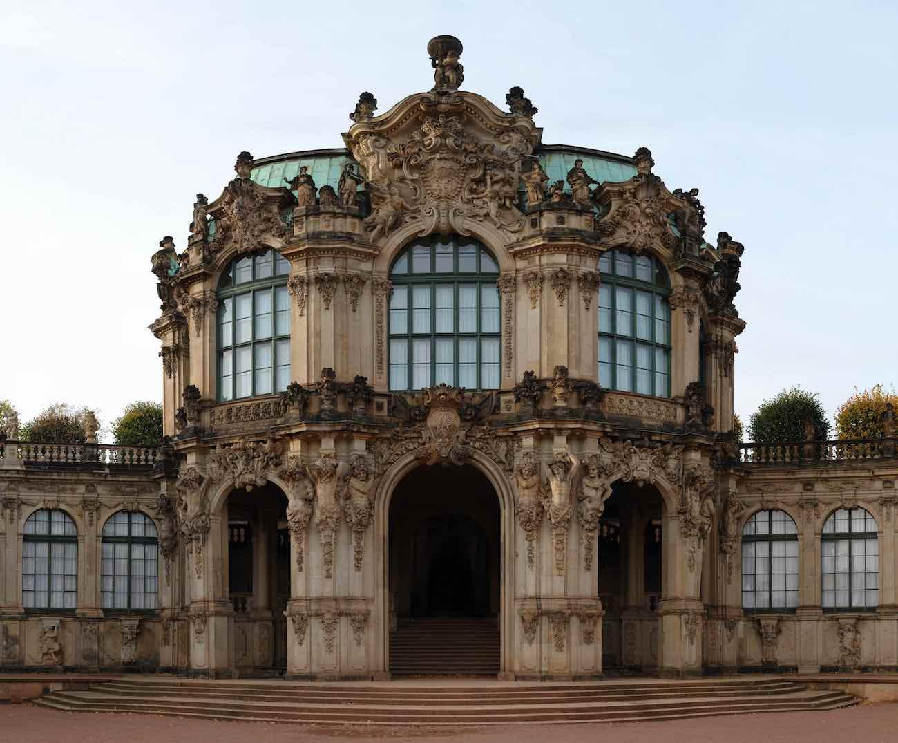 Wallpavillon im Dresdner Zwinger