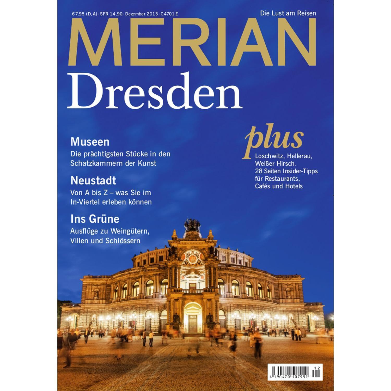 Merian Reiseführer Dresden - Titel