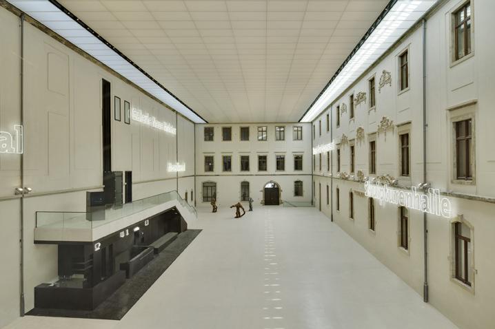 Albertinum Dresden Innenhof