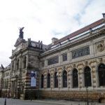 Albertinum Dresden an der Brühlschen Terasse