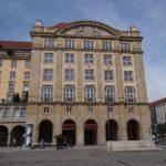 Altmarkt Dresden - Eckgebäude mit Zugang zur Altmarkt-Galerie