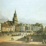 Altmarkt Dresden 1752 - gemalt von Bernardo Bellotto (genannt Canaletto)