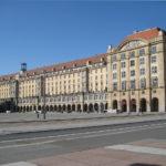 Altmarkt Dresden - Westseite