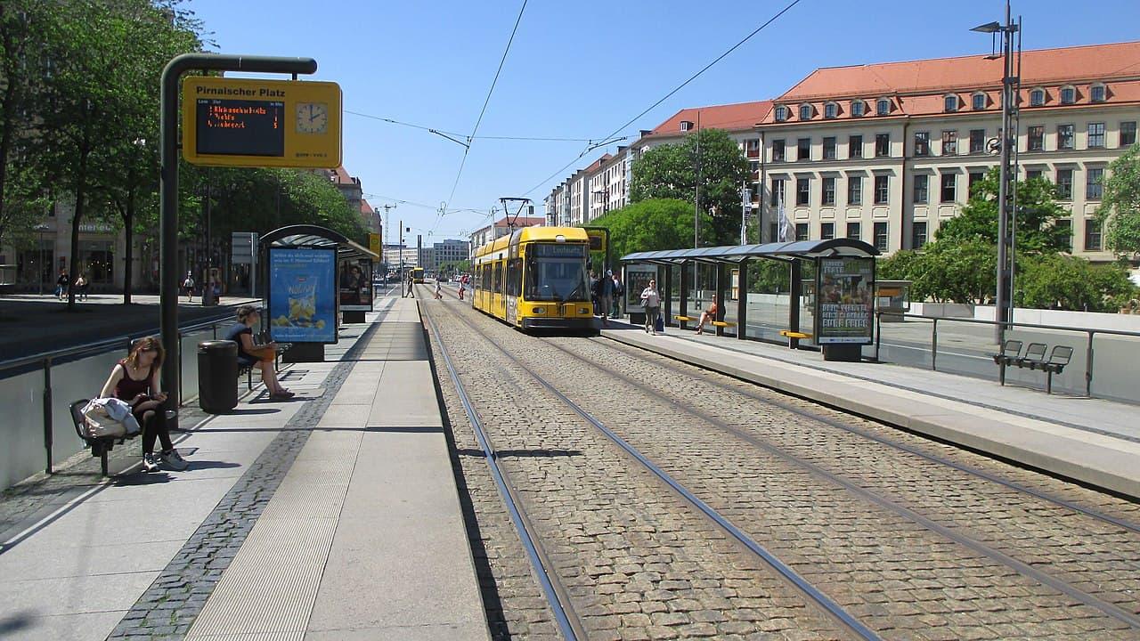 Haltestelle Pirnaischer Platz Dresden