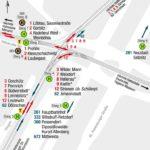 Pirnaischer Platz Dresden Haltestellenplan 2019 Sommer