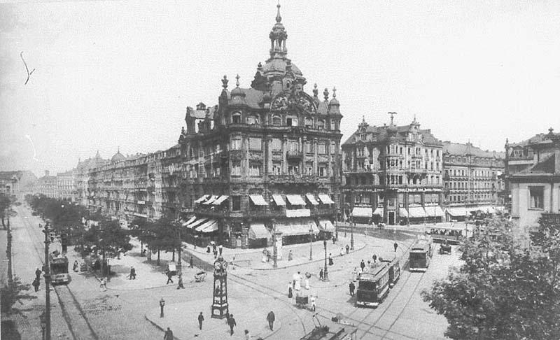 Pirnaischer Platz Dresden - Kaiserpalast um 1910
