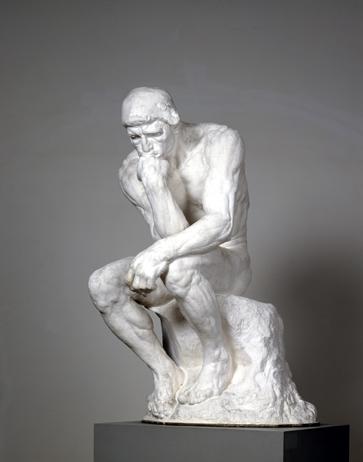 Skulpturensammlung Dresden - Denker (Rodin)