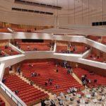 Kulturpalast Dresden - neuer Konzertsaal in Weinbergarchitektur