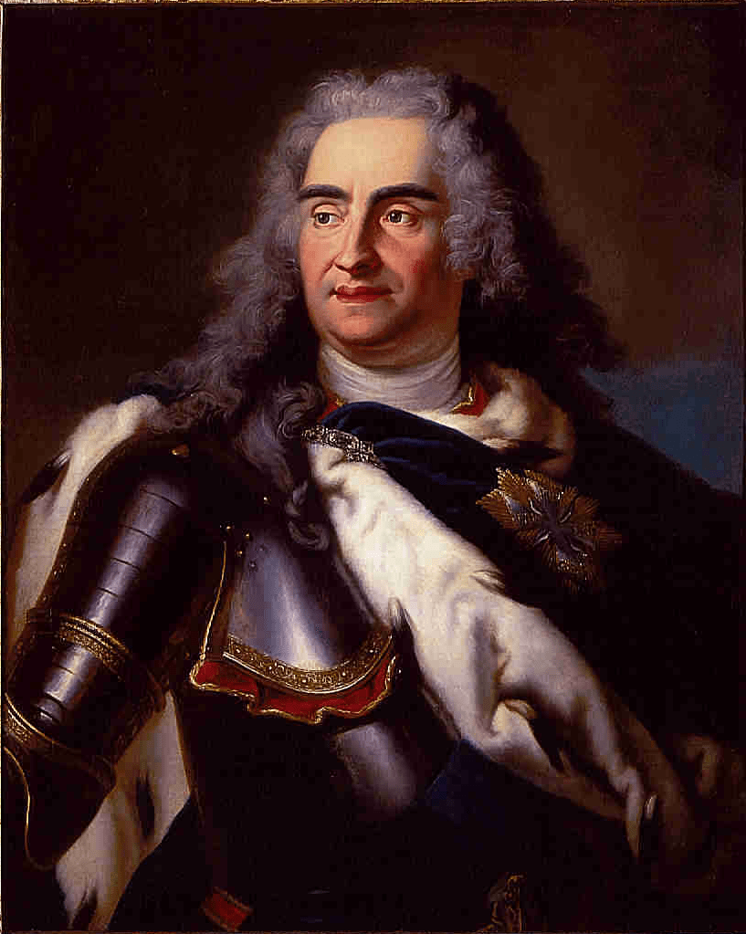 August der Starke - Gemälde von Louis de Silvestre