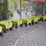 Ausleihe von Bollerwagen im Zoo Dresden