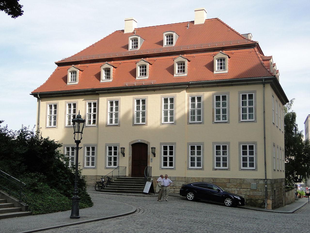 Brühlsche Terrasse - Reformierte Kirche - Hofgärtnerhaus