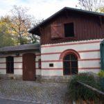 Das älteste Gebäude im Zoo Dresden - der Historische Ziegenstall