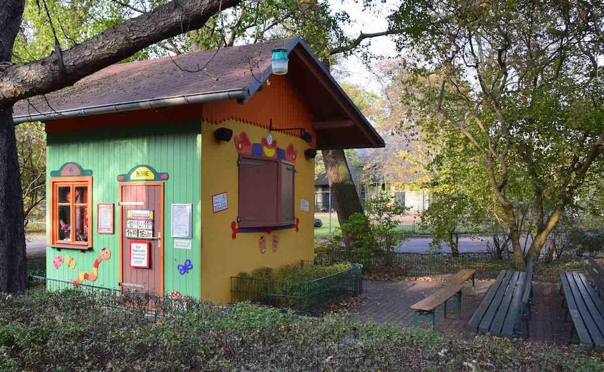 Das Haus vom Zookasper im Zoo Dresden