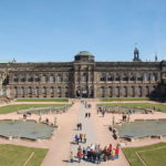 Zwinger Dresden - Blick über den Innenhof zur Sempergalerie