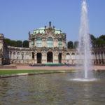 Zwinger Dresden - Innenhof mit Blick auf den Wallpavillon