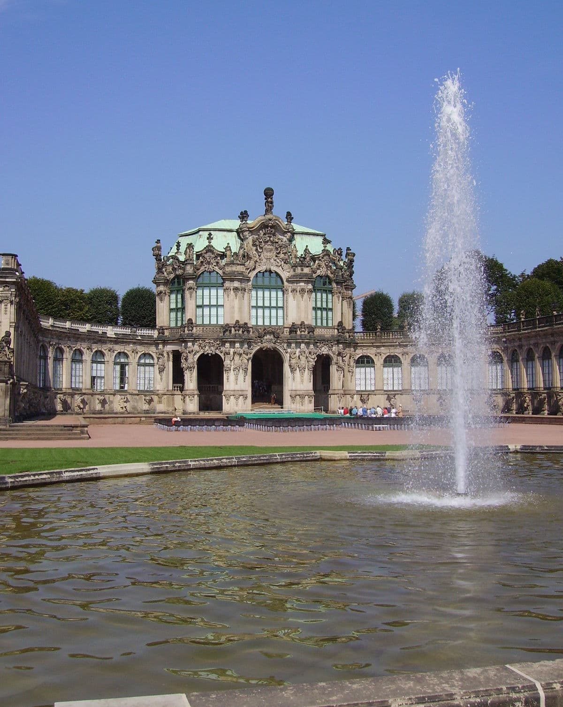 Wallpavillon im Dresdner Zwinger - wie geschaffen für Konzerte