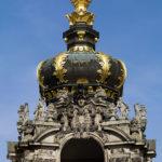 Zwinger Dresden - Kronentor im Deatil - Attika und Krone
