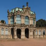 Zwinger Dresden - Wallpavillon mit Galerien