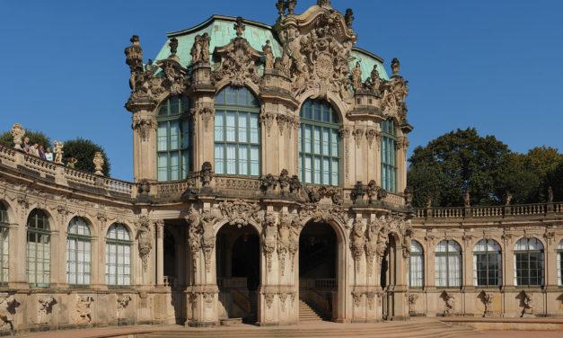 Der Wallpavillon im Dresdner Zwinger