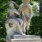 Barockgarten Großsedlitz Skulpturen - Bacchus und Ariadne