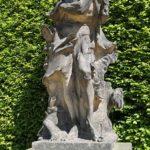 Barockgarten Großsedlitz Skulpturen - Winter