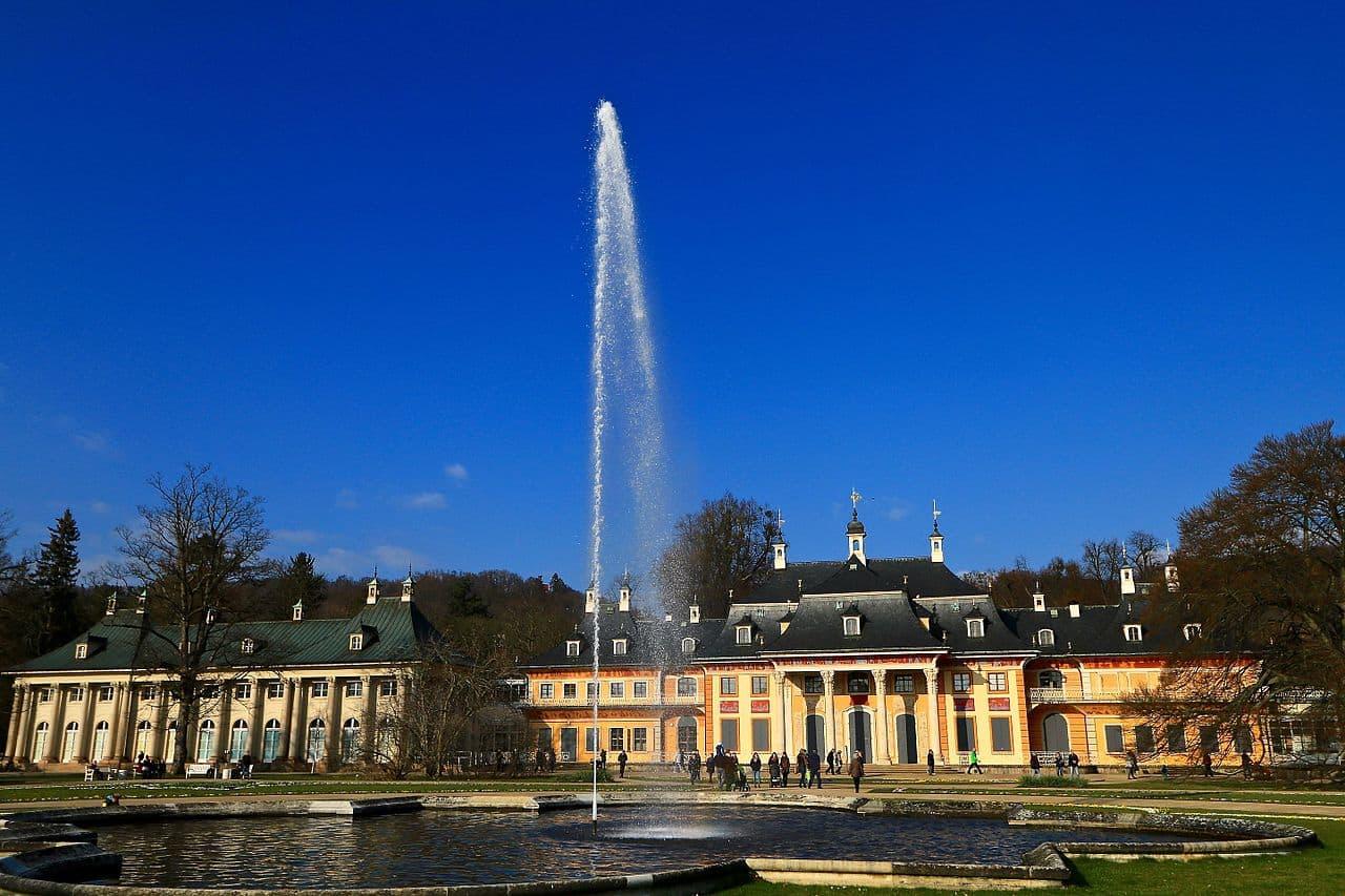 Schloß Pillnitz Fontaine
