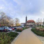 Annenkirche Dresden vom Freiberger Platz gesehen