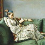 Jean-Etienne Liotard - Bildnis der Maria Adelaide von Frankreich in türkischer Tracht