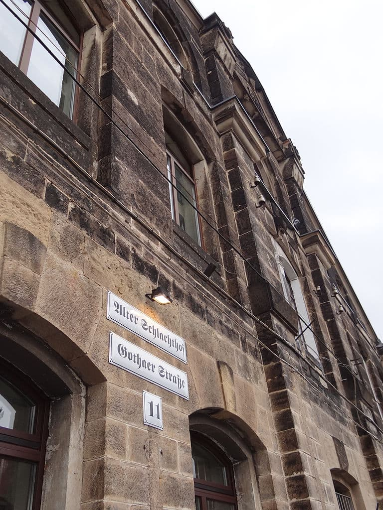 Alter Schlachthof Dresden in der Gothaer Str 11