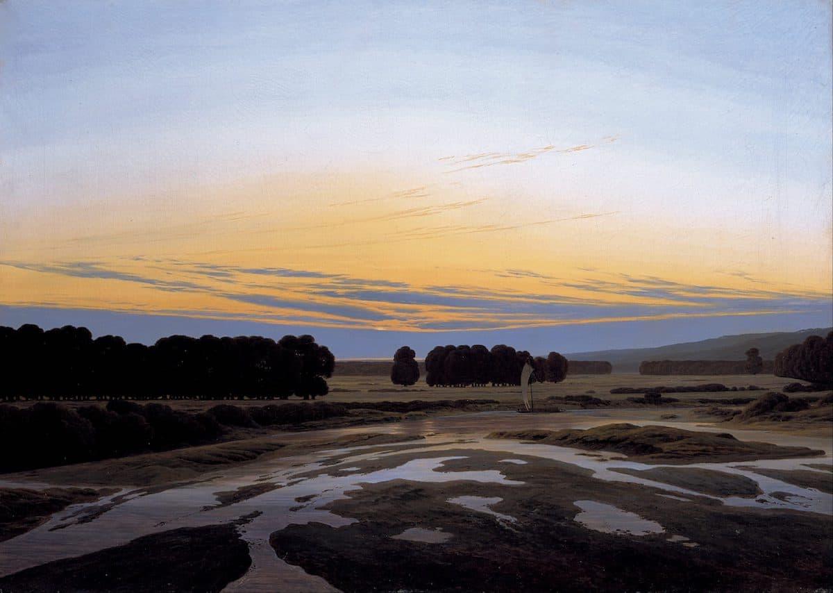 Caspar David Friedrich - Das große Gehege bei Dresden - Galerie Neue Meister
