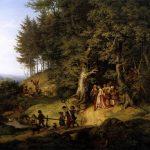 Ludwig Richter - Brautzug im Frühling - Galerie Neue Meister