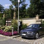 Ladestation für Elektrofahrzeuge am Schloss Eckberg