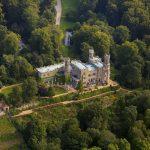 Schloss Eckberg Luftbild