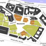 Neumarkt Dresden - Karte