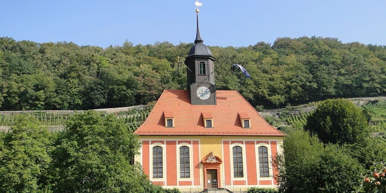 Die Weinbergkirche in Dresden Pillnitz