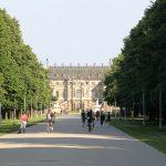 Grosser Garten - Blick hinüber zum Palais