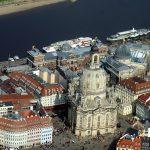Luftbild Frauenkirche Dresden 2014