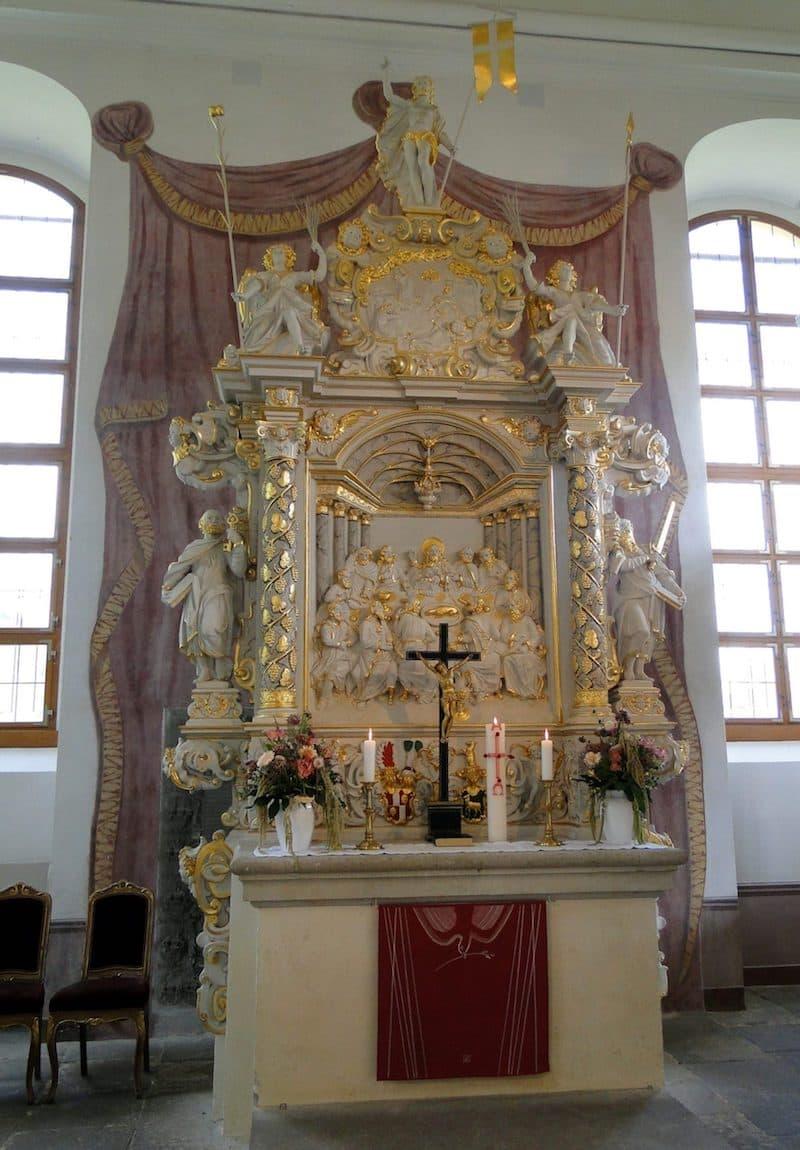 Weinbergkirche Pillnitz - Altar