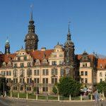 Residenzschloss Dresden vom Zwinger aus gesehen