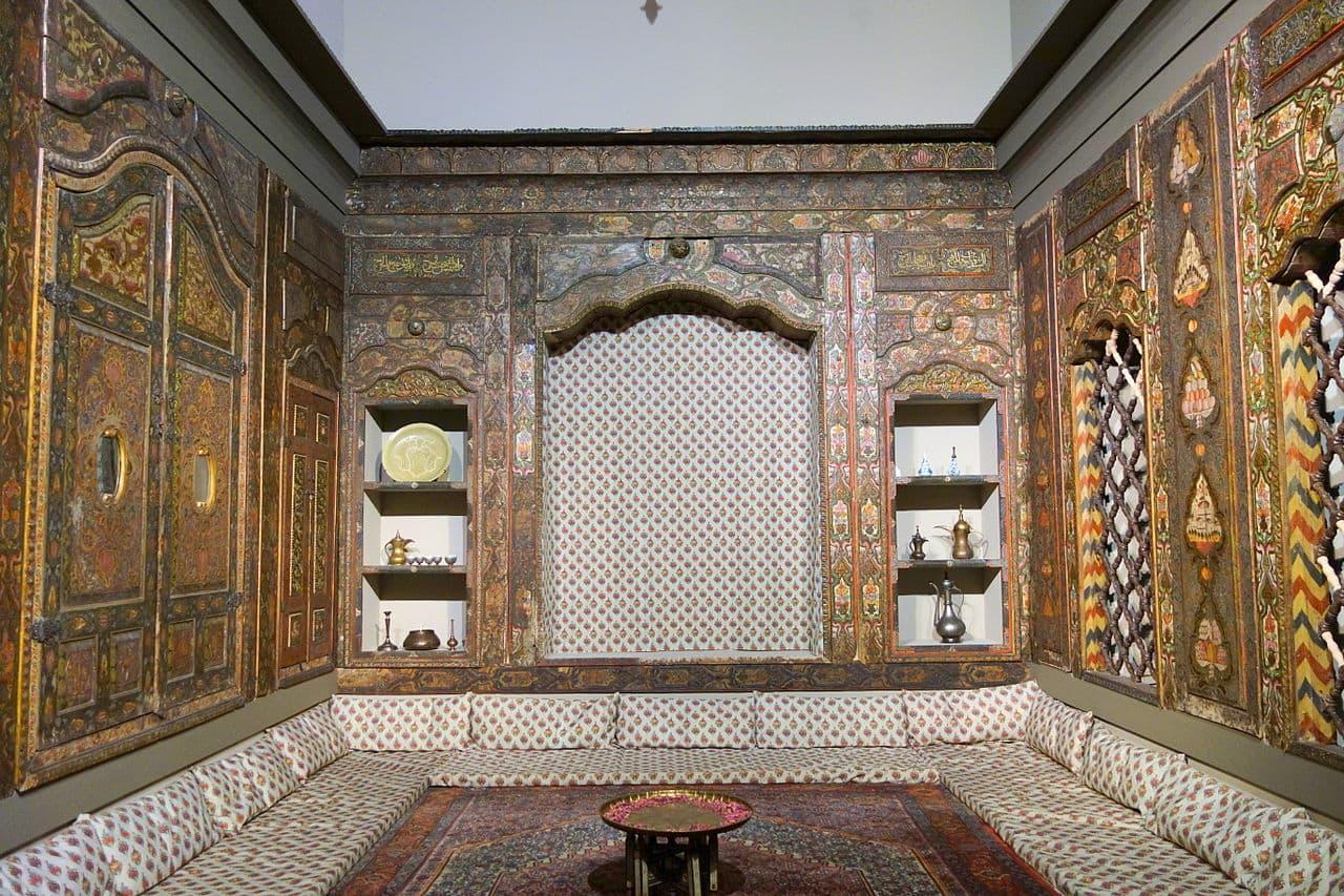 Dresden Damaskus Zimmer 2- Museum für Völkerkunde Dresden im Japanischen Palais