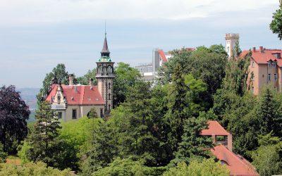 Villenviertel in und um Dresden