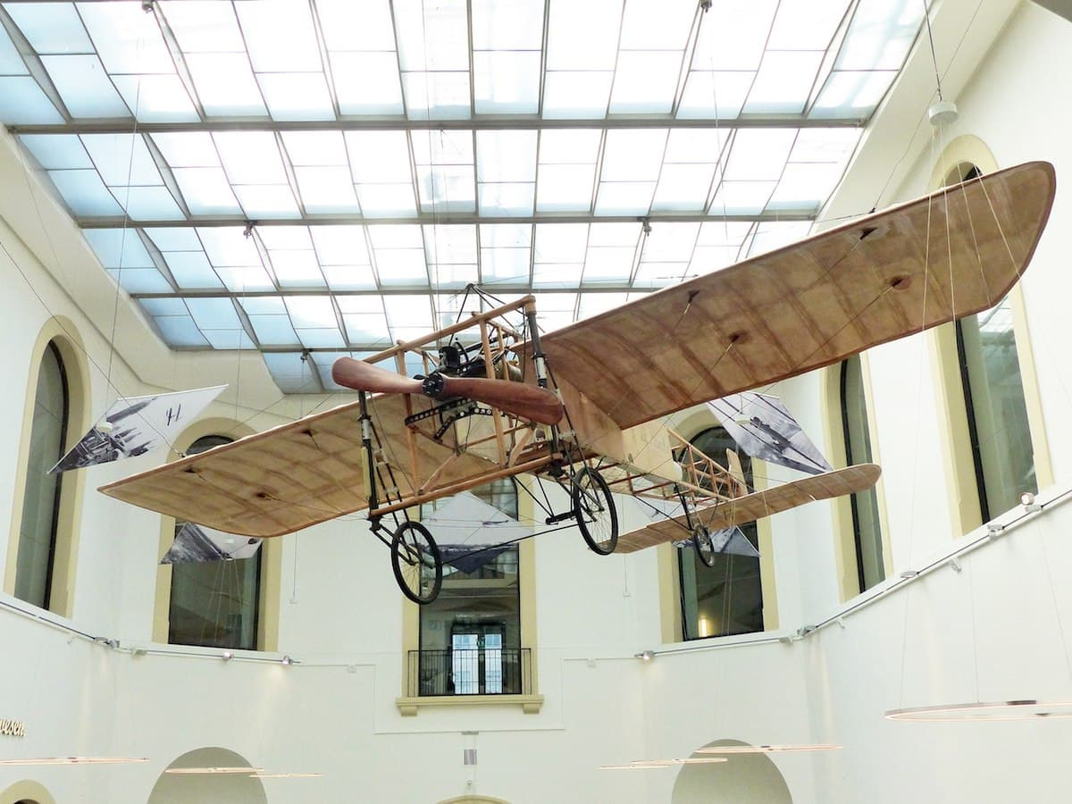Verkehrsmuseum Dresden - Flugzeug Blériot XI
